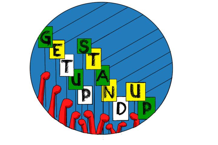 #GetUpStandUp