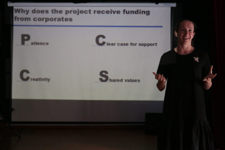 Workshop on fundraising