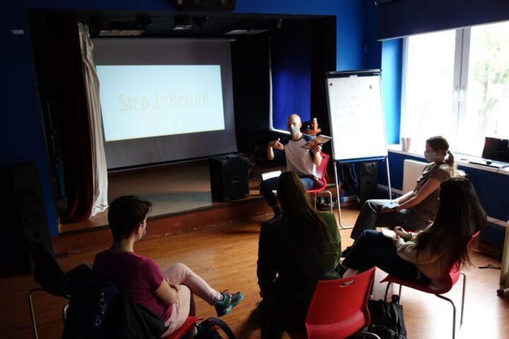 Workshops for volunteers in the project WWW II